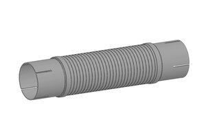Corrugated Pipe, exhaust system