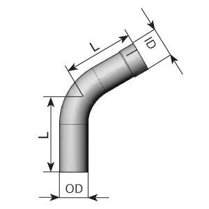 Tubo de escape, universal