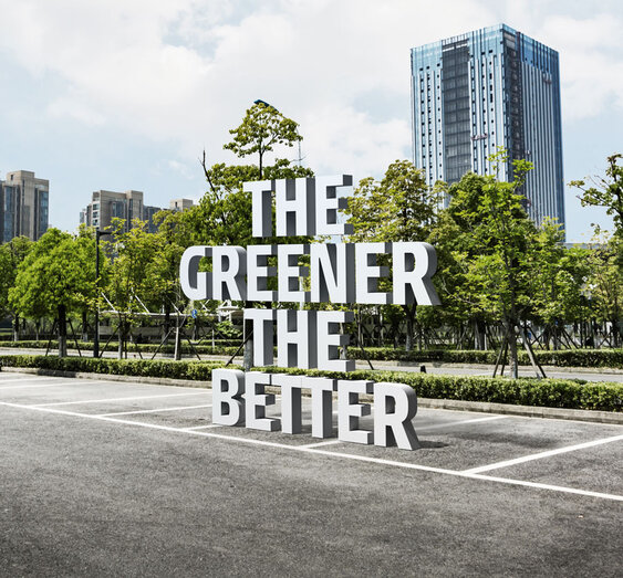 The Greener the better