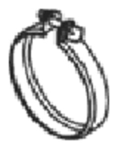Heavy Duty V-Clamp, Ø=88.9 / L=20, INOX