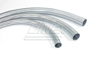 Flex Pipe, D2S, OD/ID=58.5/54.5 / L=2000, ZINC