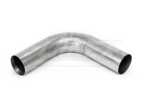 90° Exhaust Bend, OD=100 / L=380, ALU