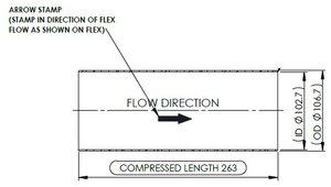 Exhaust Flex, D3S, Kenworth