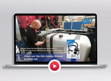 NOx sensor installation video