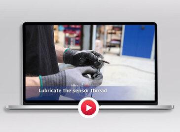 Temperature sensor installation video